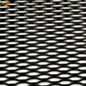 Hexagonal Pattern Aluminum Expanded Metal Mesh for Building Ceiling