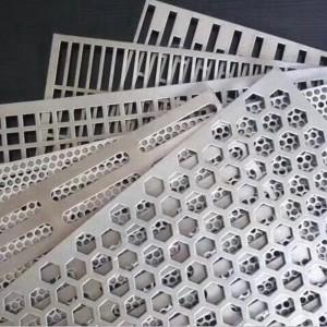 Custom Perforated Metal Mesh Sheets